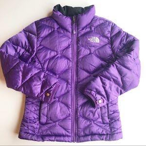 The North Face Purple Coat 7/8